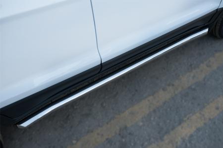 Ford Ecosport 2014- Пороги труба d63 (вариант 1) FET-0020561